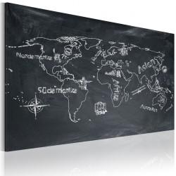 Obraz  Lekcja geografii (Język szwedzki)