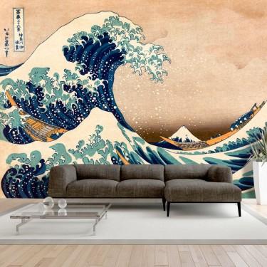 Fototapeta  Hokusai Wielka fala w Kanagawie (Reprodukcja)