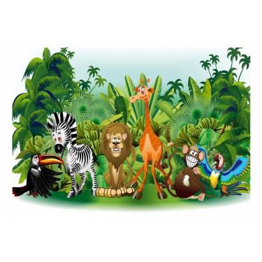 Fototapeta  Zwierzęta dżungli