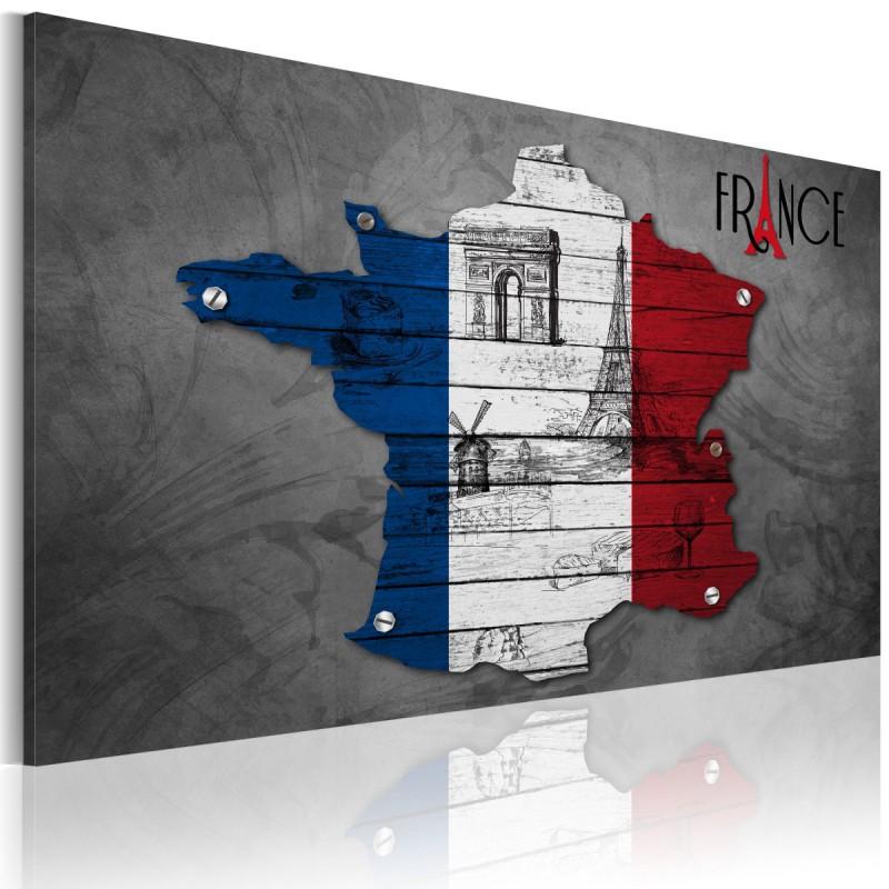 Obraz  Symbole Francji