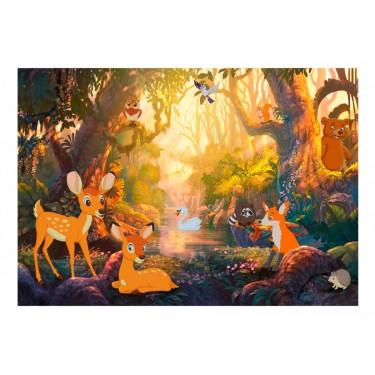 Fototapeta  Zwierzątka w lesie