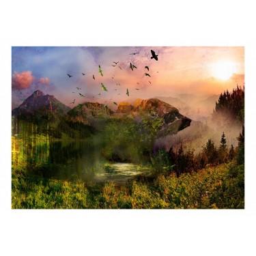 Fototapeta  Niedźwiedź w górach