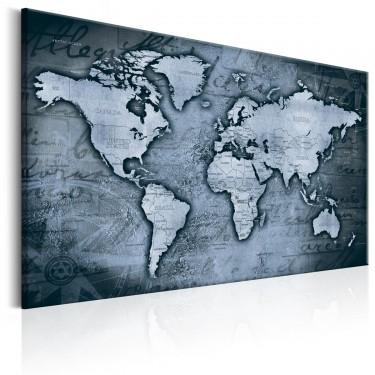 Obraz  Szafirowy świat