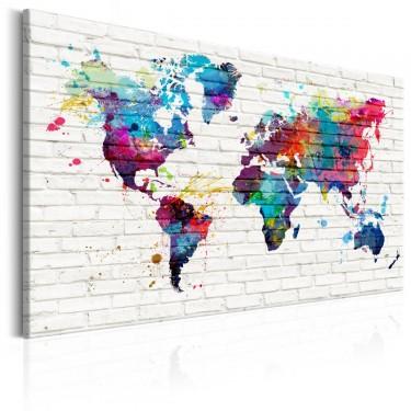 Obraz  Styl nowoczesny Mury świata