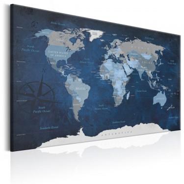 Obraz  Granatowy świat