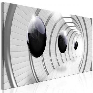 Obraz  Kosmiczny tunel (1częściowy) wąski