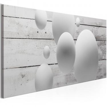 Obraz  Kule i deski (1częściowy) wąski