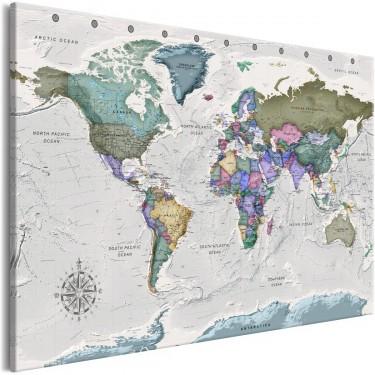 Obraz  Światowe destynacje (1częściowy) szeroki