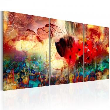Obraz  Ogród kolorów