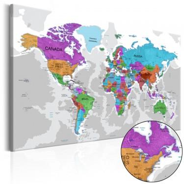 Obraz  Terytorium kolorów