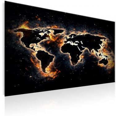 Obraz  Ognisty świat