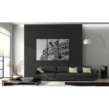 Obraz  Artistic mess  triptych