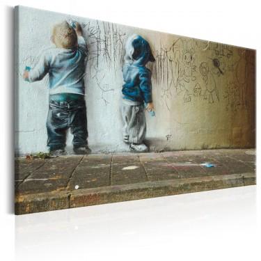 Obraz  Młodzi artyści