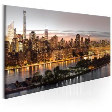 Obraz  Wieczorny Manhattan
