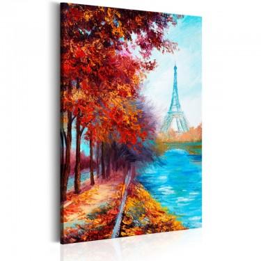Obraz  Jesienny Paryż