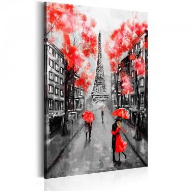 Obraz  Paryż Miasto miłości