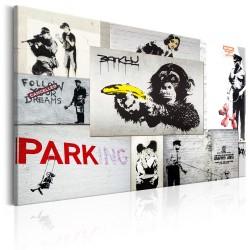 Obraz  Banksy Policyjne fantazje
