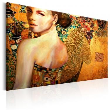 Obraz  Złota dama