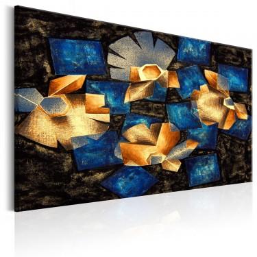 Obraz  Geometryczne kwiaty