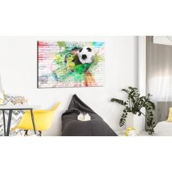 Obraz  Kolorowy sport (Piłka nożna)