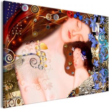 Obraz  Matczyny uścisk (1częściowy) szeroki