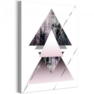 Obraz  Piramida (1częściowy) pionowo