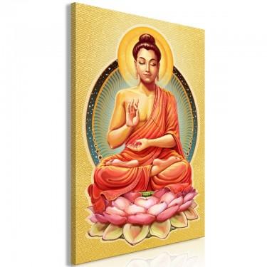 Obraz  Spokój Buddy (1częściowy) pionowy