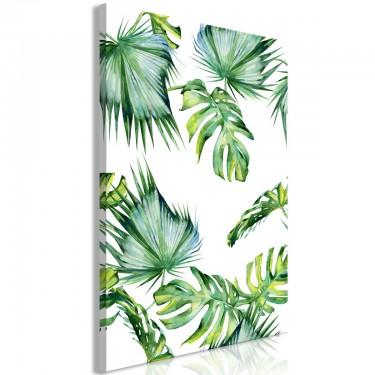 Obraz  Klimat dżungli (1częściowy) pionowy