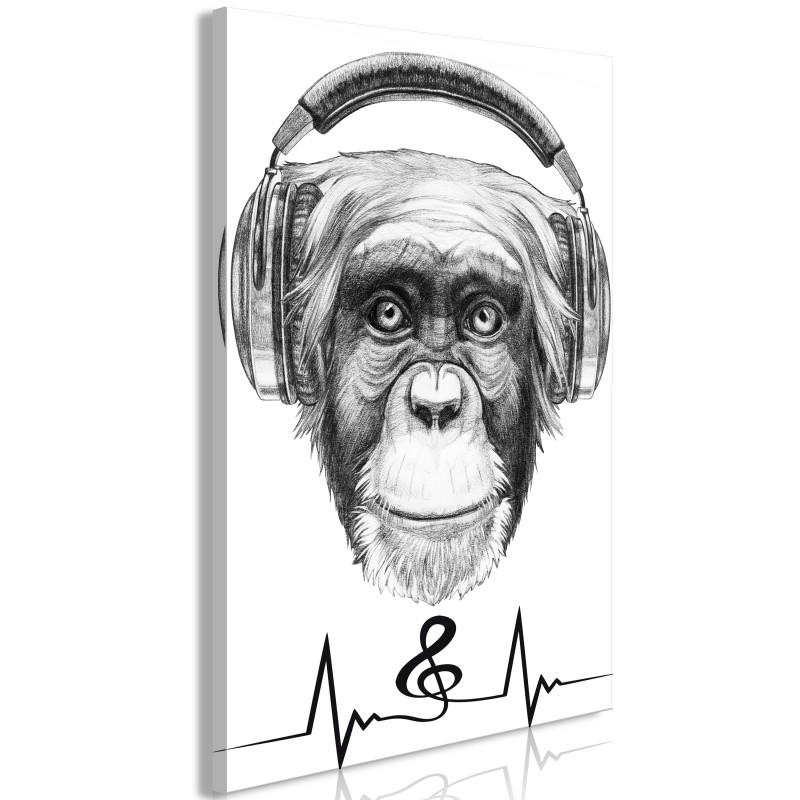 Obraz  Muzyczny puls (1częściowy) pionowy