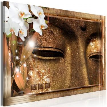 Obraz  Oczy Buddy (1częściowy) szeroki