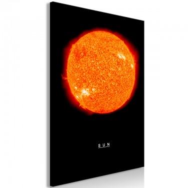 Obraz  Słońce (1częściowy) pionowy