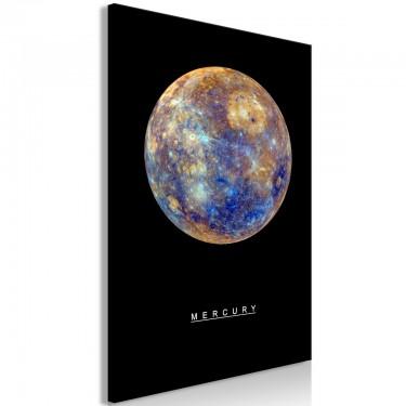 Obraz  Merkury (1częściowy) pionowy