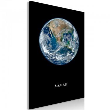 Obraz  Ziemia (1częściowy) pionowy