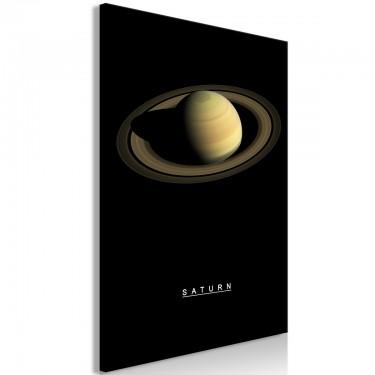 Obraz  Saturn (1częściowy) pionowy