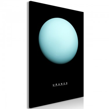 Obraz  Uran (1częściowy) pionowy