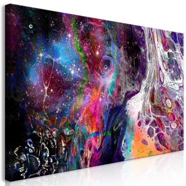 Obraz  Kolorowa galaktyka (1częsciowy) szeroki
