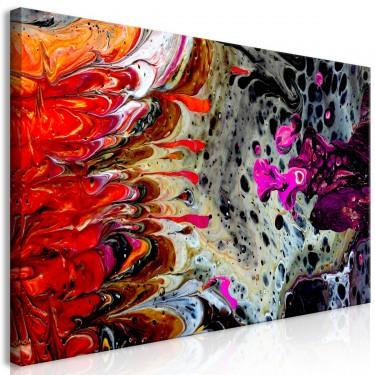 Obraz  Fuzja farb (1częściowy) szeroki