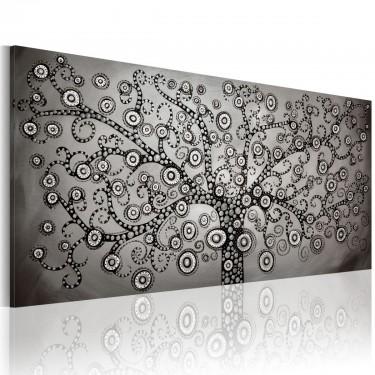 Obraz  Srebrne drzewo