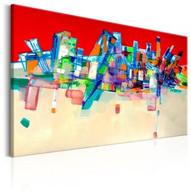 Obraz  Abstrakcyjna architektura