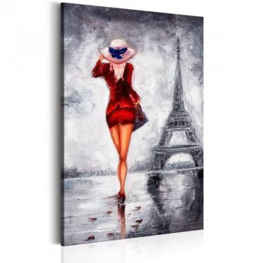 Obraz  Dama w Paryżu