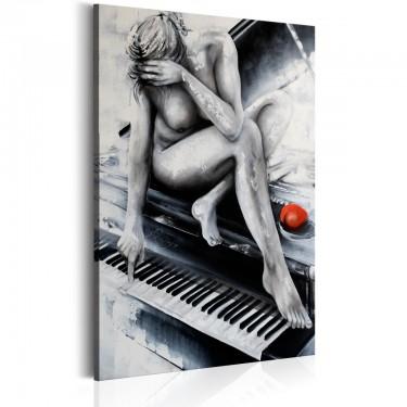Obraz  Zmysłowa muzyka
