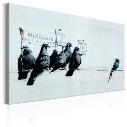 Obraz  Protesting Birds by Banksy