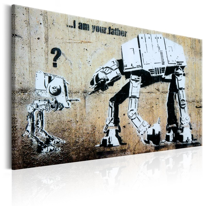 Obraz  I Am Your Father by Banksy