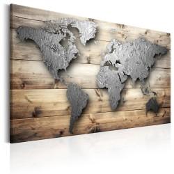 Obraz  Srebrny świat