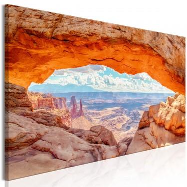 Obraz  Kanion w Utah (1częściowy) wąski