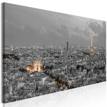 Obraz  Panorama Paryża (1częściowy) wąski