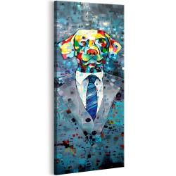 Obraz  Pies w garniturze