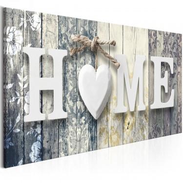 Obraz  Zapach domu (1częściowy) kremowy szeroki