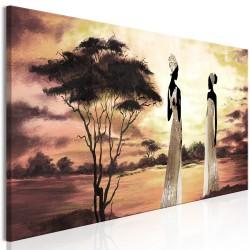 Obraz  Afrykańskie boginie (1częściowy) wąski
