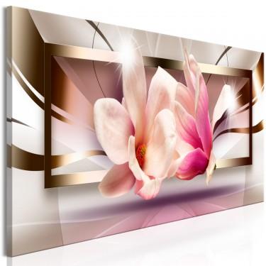 Obraz  Kwiaty poza ramką (1częściowy) wąski